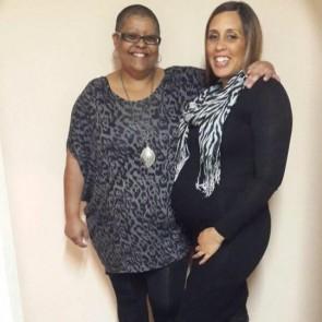 Kaylynn & her mommy