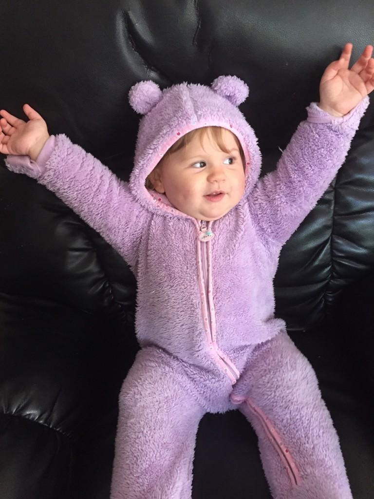 Mauve teddy