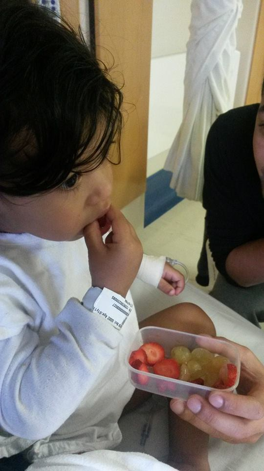 H eating fruit after surgery