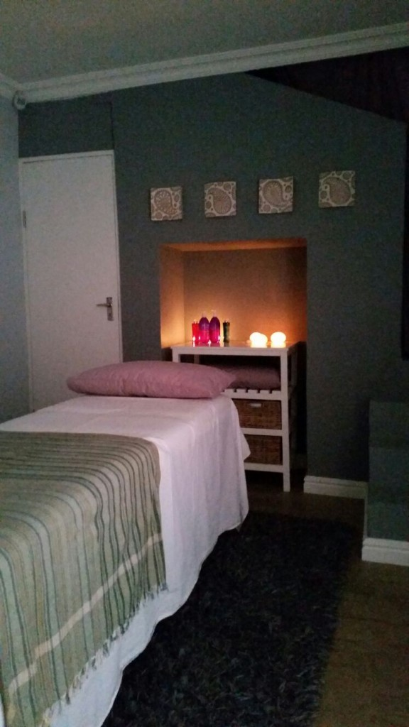 Mummy Massage Therapy Room
