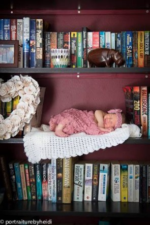 BABY ON A SHELF