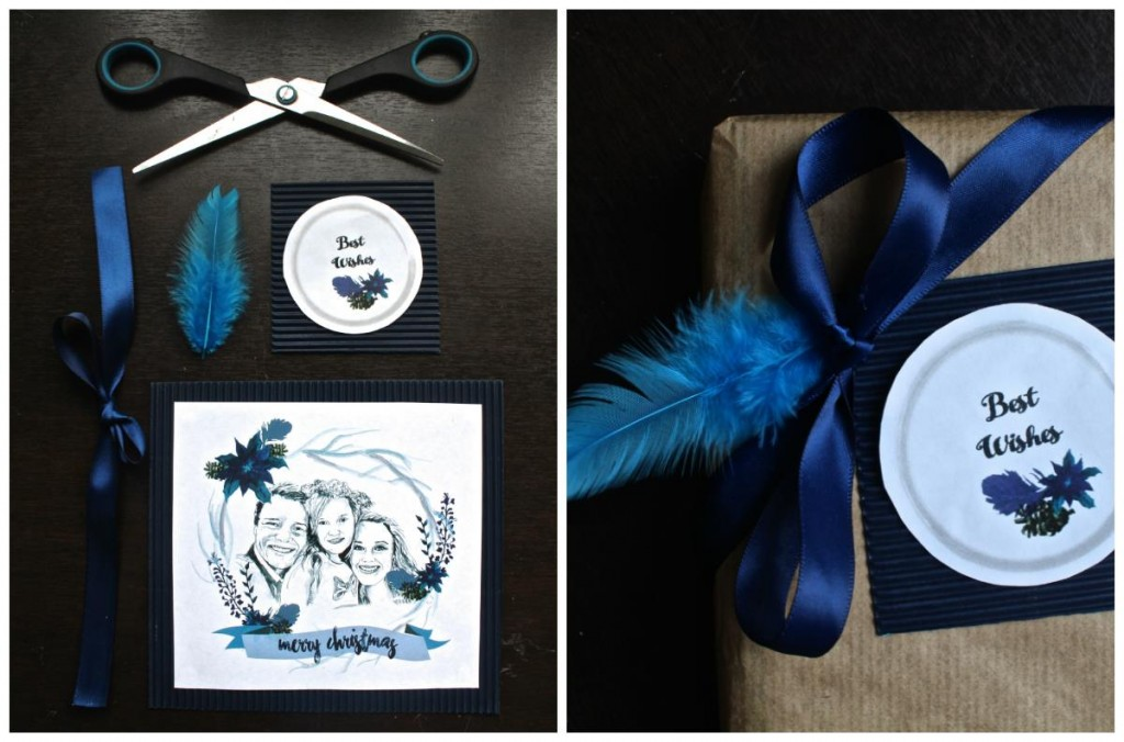 COPYRIGHT WH Blue gift set