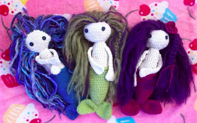Cupcake Mermaids