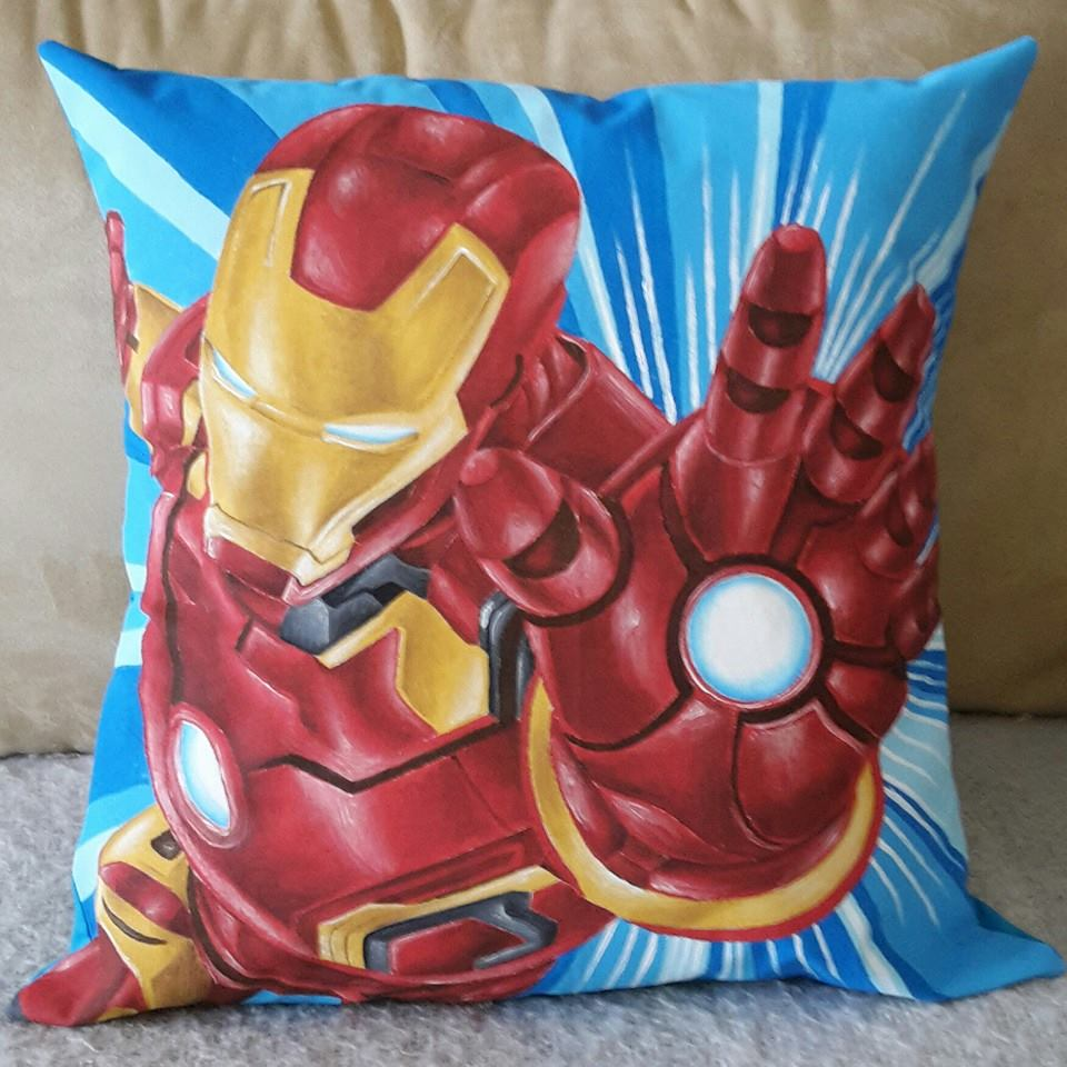 Iron man pillow