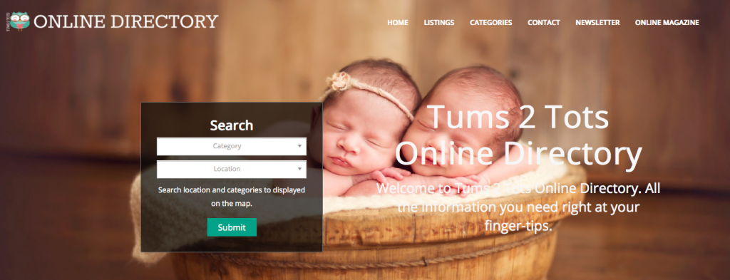 Tums 2 Tots Online DIrectory