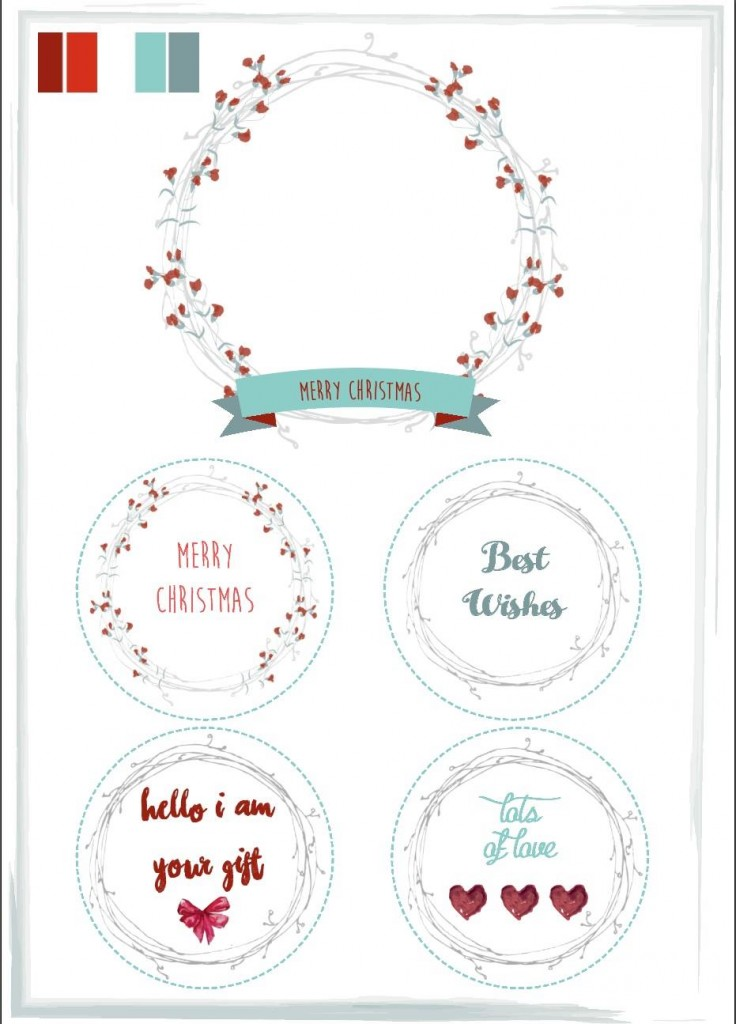 COPYRIGHT WH Wreath & tags