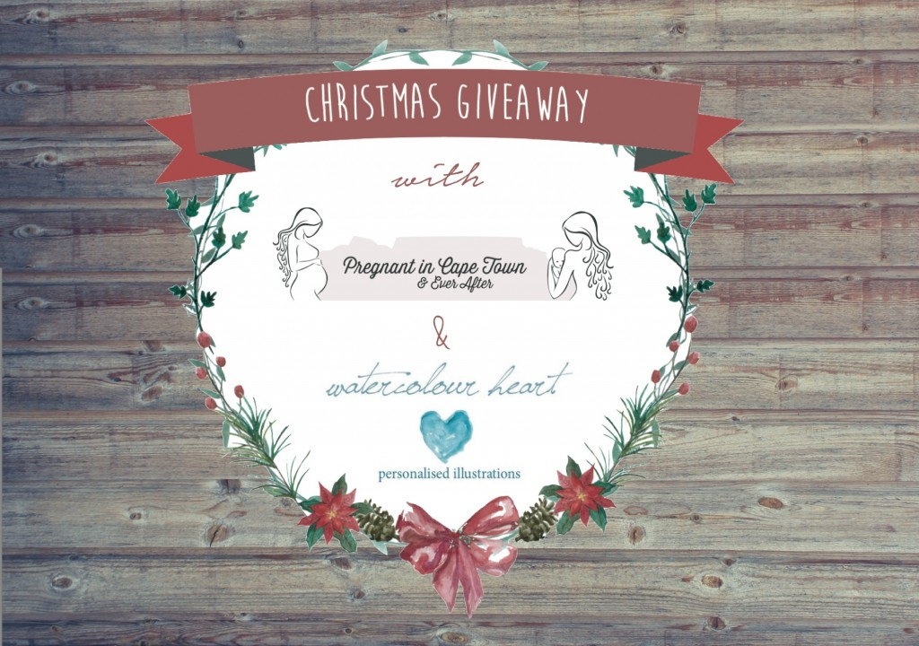 Watercolour Heart Xmas Giveaway Banner