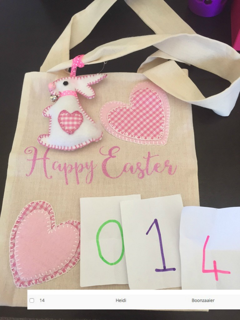 COPYRIGHT MLM #EasterMagic bag winner