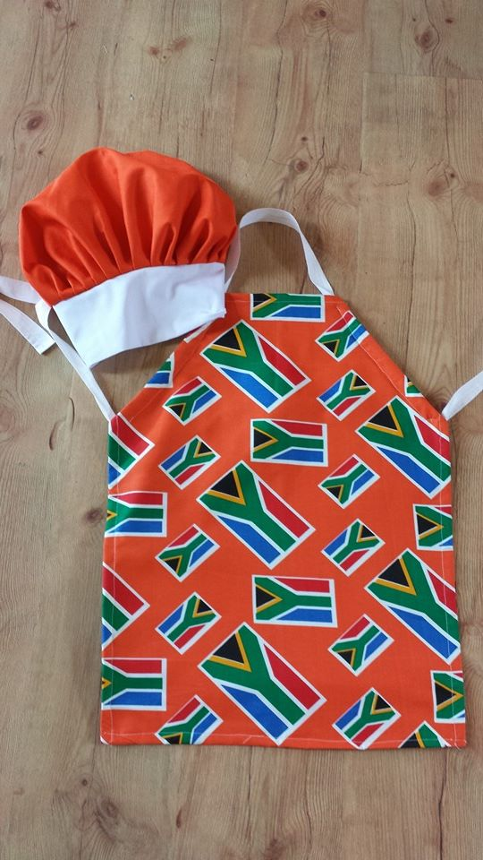 3rd kid creations SA apron set