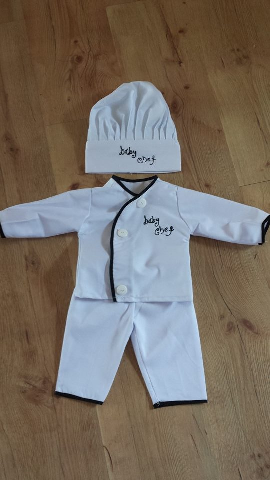 3rd kid creations baby chef