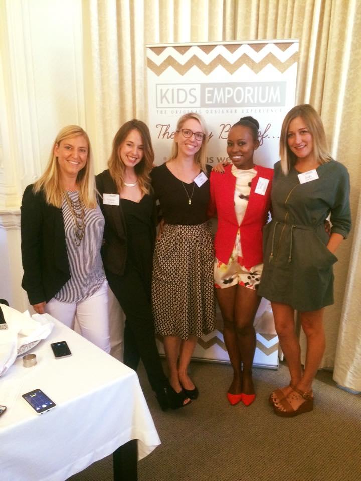 Inspiring Women Kate, Cass, Jules, Elana, Leigh