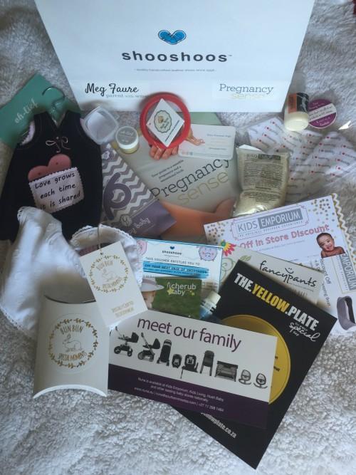 Pregnancy sense gift bag