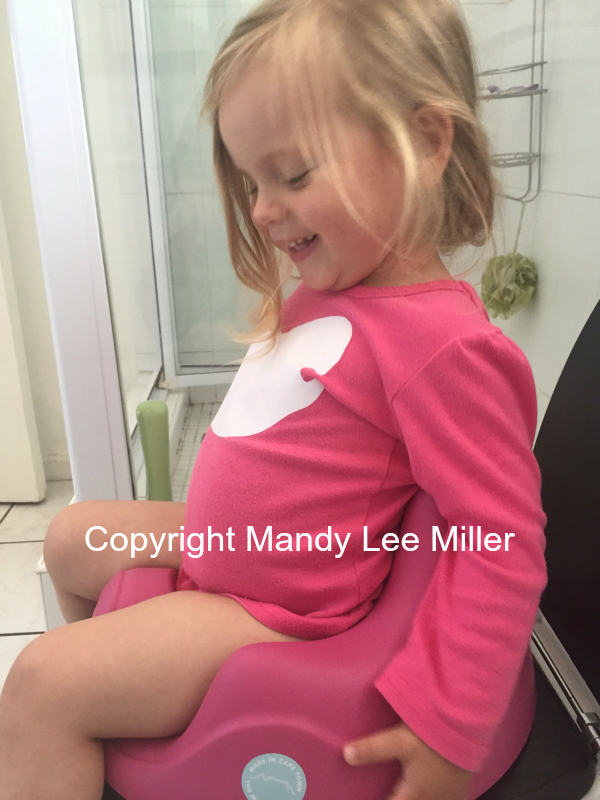 Potty training - NOT FOR REUSE OR PUBLICATION!! COPYRIGHT PROPERTY OF MANDY LEE MILLER