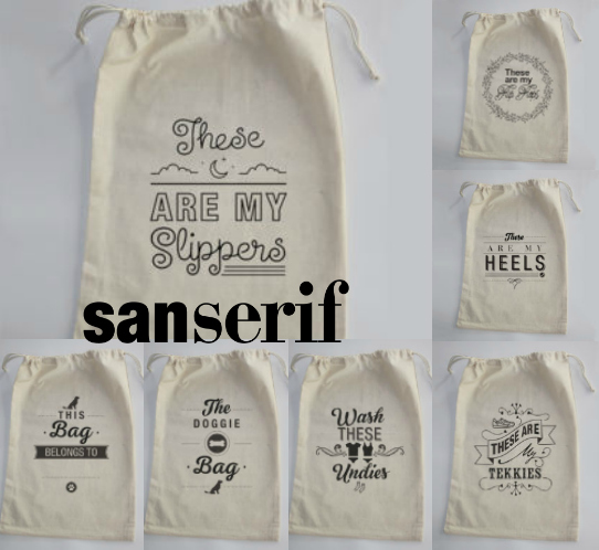 sanserif-drawstring-bags