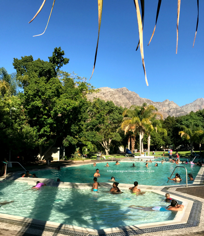 Family holiday Goudini Spa main pools