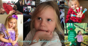 Surviving the holidays with a toddler sm