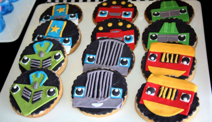 Third birthday party - best cookies ever