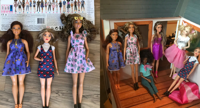 COPYRIGHT MLM beautiful barbie dolls