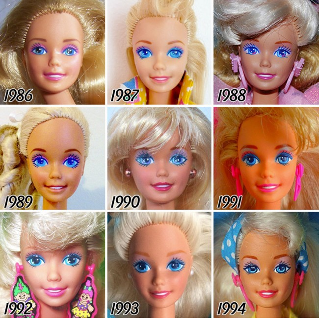 faces-barbie-evolution-1959-2015-bored panda